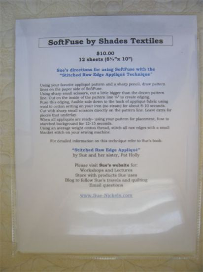 SoftFuse Paper Backed Fusible Web