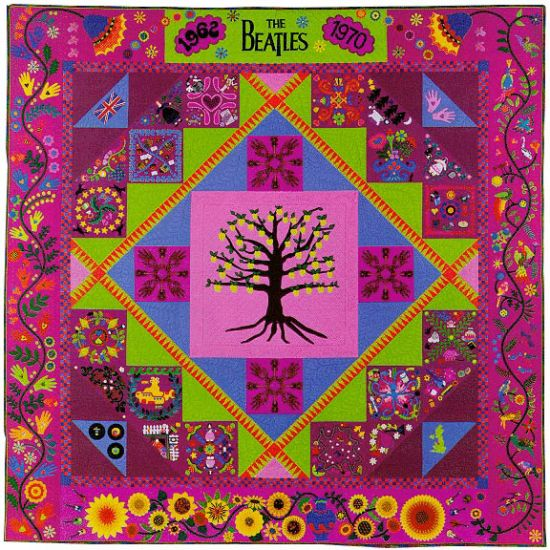 The Beatles Quilt Sue Nickels Quilter Author